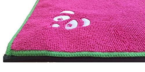 HOT Yoga Towel Insanely Absorbent Microfiber, Super Lightweight, Folds Up Very Small Use for Bikram Yoga Pilates