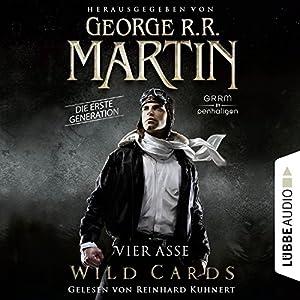 Vier Asse (Wild Cards - Die erste Generation 1) Hörbuch