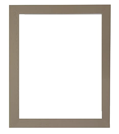 Tailored Frames Soho Putty Wood Grain Picture Photo Frame With Light
