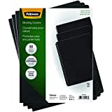 Fellowes Executive Binding Presentation Covers, Oversize Letter, Black, 50 Pack (52146)