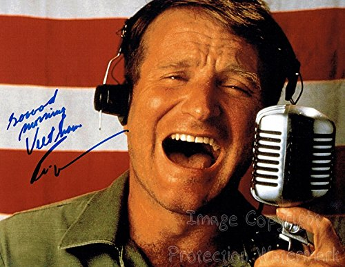 Robin Williams Signed Autographed 11x14 Inch Photo Print