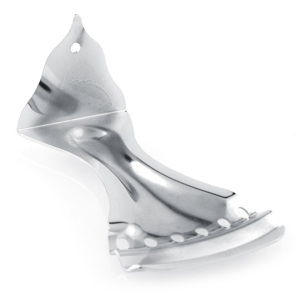 Surfing Chrome 6 String Zinc Alloy Durable Dobro Style Tailpiece for Resonator Echo Guitar