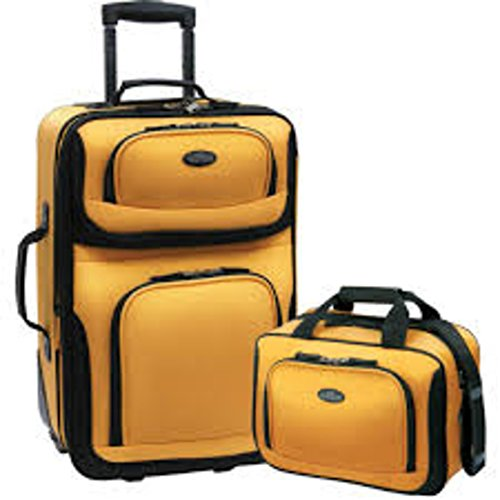 us-traveler-rio-two-piece-expandable-carry-on-luggage-set-mustard-new-2-one-size