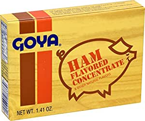 Goya Ham Flavored Concentrated Seasoning 1.41oz   Sabor a Jamon (Pack of 01)
