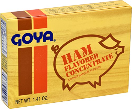 Bone Ham In Smoked - Goya Ham Flavored Concentrated Seasoning 1.41oz | Sabor a Jamon (Pack of 01)