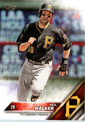 2016 Topps #197 Neil Walker Pittsburgh Pirates Baseball Card