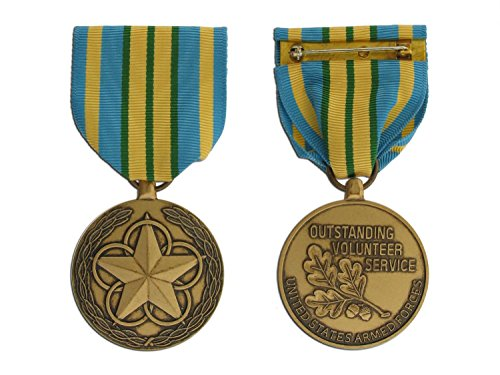 Military Outstanding Volunteer Service Medal - Large