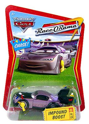 Race O-rama Series (Disney / Pixar CARS Movie 1:55 Die Cast Car Race-O-Rama Series Impound Boost)
