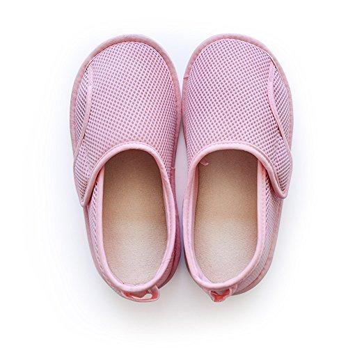 ZZHF Summer Home Anti-Slip Month Shoes Home Pregnant Women Postpartum Soft Bottom Slippers Yoga Shoes (2 Colors Optional) (Size Optional) Slippers B 6Pe1UDJ4