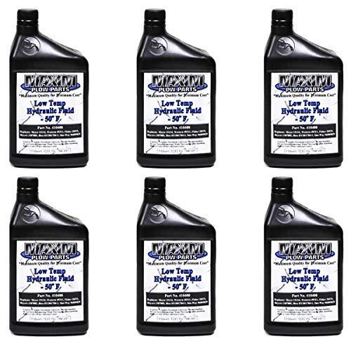 6 Quart -50 Snow PLOW Hydraulic Oil Meyer 15134 Fisher 28531 Western 49311