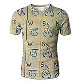 Mahjong Tile Men's Short Sleeve T-Shirt M