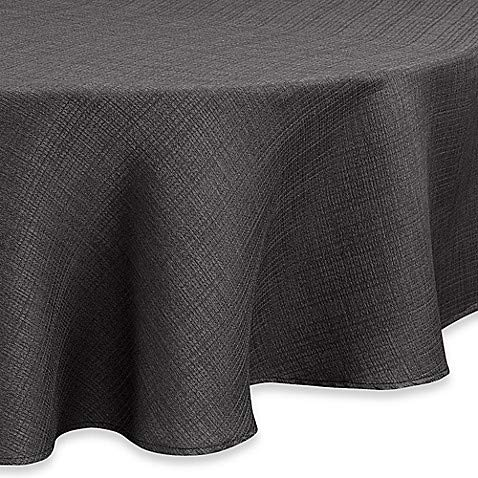 Noritake Colorwave 70-Inch Round Tablecloth in Graphite