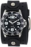 Nemesis Men's JB097K Black Collection Amazing Groove Watch, Watch Central
