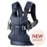 BABYBJÖRN Baby Carrier One Air, 3D Mesh, Navy Blue, 2018 Edition