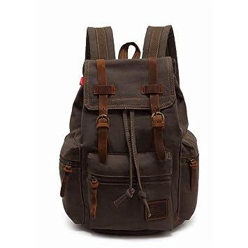 Amazon.com: AINiubia Mens Backpack Vintage Canvas Mochila ...