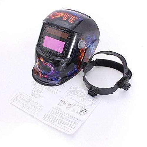 Ghosts Love Solar Auto Darkening Welding Helmet Arc Tig mig Grinding Welders Mask