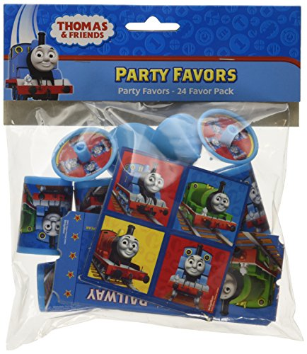 Amscan International Favor Pack Thomas (24 Pieces)