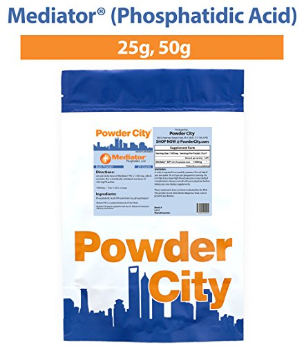 Powder City Mediator® Phosphatidic Acid (25 Grams)