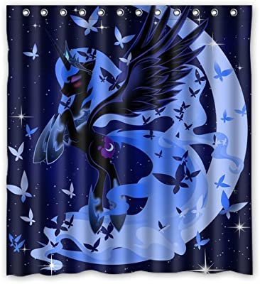 My Little Pony Princess Luna Custom Create Design Your Own Waterproof Shower Curtain Bathroom Curtains Bath Curtain 66x72 Inches Amazon Co Uk Kitchen Home,Home Furniture Dining Table Designs