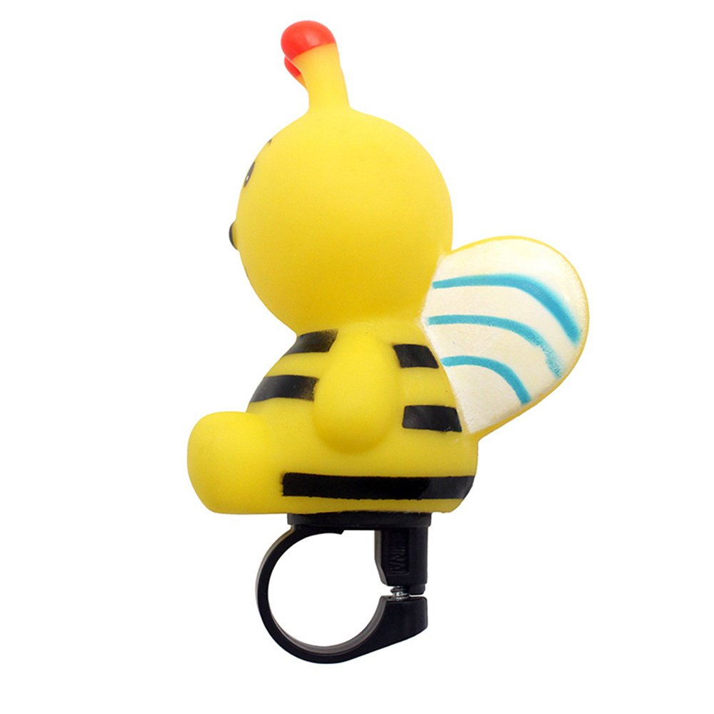 Cute Bike Squeeze Horn for Kids Tricycle Kids Bike Walker Horn Toy for Child Scooter Rubber Bike Horn for Girls /& Boys Yellow Bee Horn for Kids Bike