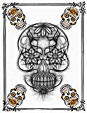Sugar Skull Weekly Planner 2020-2021: 2 Year Daily, Weekly and Monthly Planner || 8.5 X 11 Inches