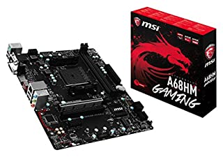 MSI A68HM Gaming Motherboard (B01MUCEHYR) | Amazon price tracker / tracking, Amazon price history charts, Amazon price watches, Amazon price drop alerts