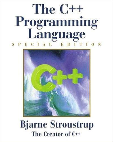 Bons livres à télécharger The C++ Programming Language: Special Edition (3rd Edition) by Bjarne Stroustrup (2000-02-11) by Bjarne Stroustrup MOBI