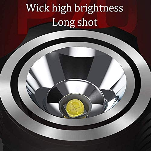 Bdesign Super Bright LED Torch,Powerful Flashlight USB Rechargeable Tactical Torch Handheld Searchlight Best for Hiking Hunting Camping Outdoor Sport