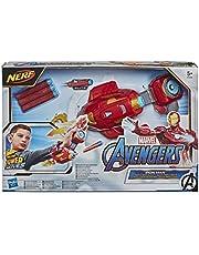NERF Power Moves Marvel Avengers Iron Man Repulsor Blast-handschoen, NERF-dartblasterspeelgoed voor rollenspel, speelgoed voor kinderen vanaf 5 jaar