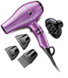 Andis Professional Salon Pro Dry Elite Ionic Tourmaline 1600-Watt Styling Hair Dryer with 8 Ft Cord, Purple (84000) Review