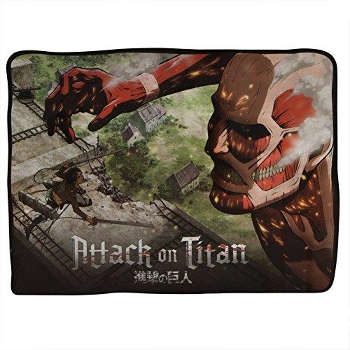 Attack on Titan Fleece Blanket for $<!--$19.94-->
