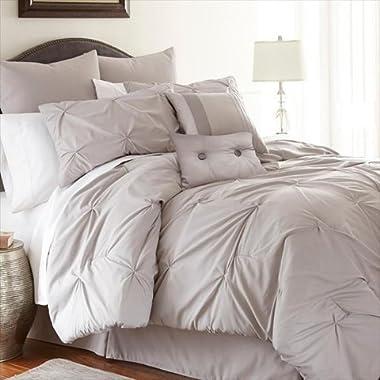 Ella 8-piece Embellished Comforter Set Queen Sand