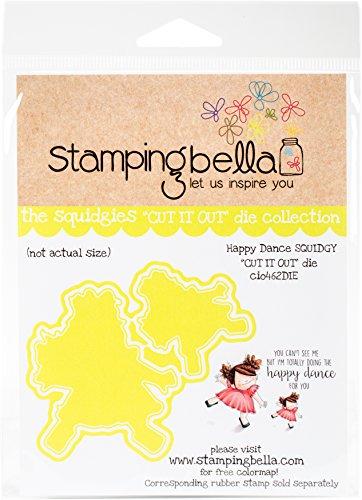 Stamping Bella CIO462DIE Cut It Out Dies-Happy Dance Squidgy by Stamping Bella (Image #2)