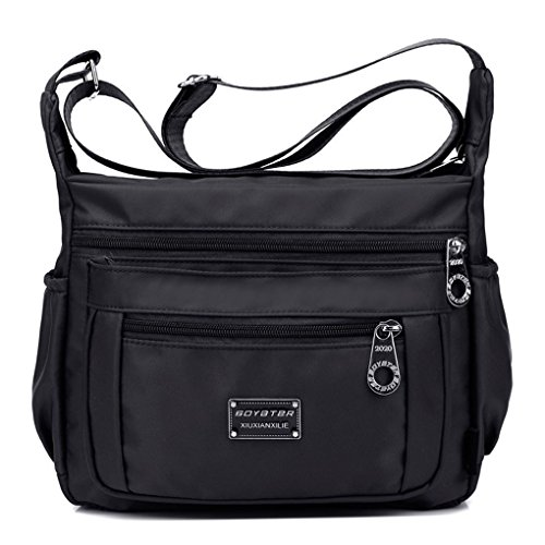 Nylon Black Bag Patterned For Crossbody Deep Tibes Girls Bag Ladies Blue Messenger Bag Women Shoulder C ZEWwfUxq