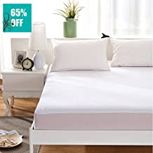 """Maevis Waterproof Mattress Cover Protector Pad- Fitted 8"""" - 21"""" Deep Pocket Hypoallergenic,King Size"""