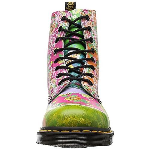 Dr Womens Pascal Synthetic Leather martens Boots Eyelet 8 Daze 5LR4jA