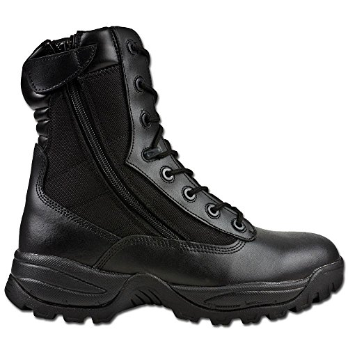 Tactical Bottes Noir Tec Noir Mil Two Zip FqRWz