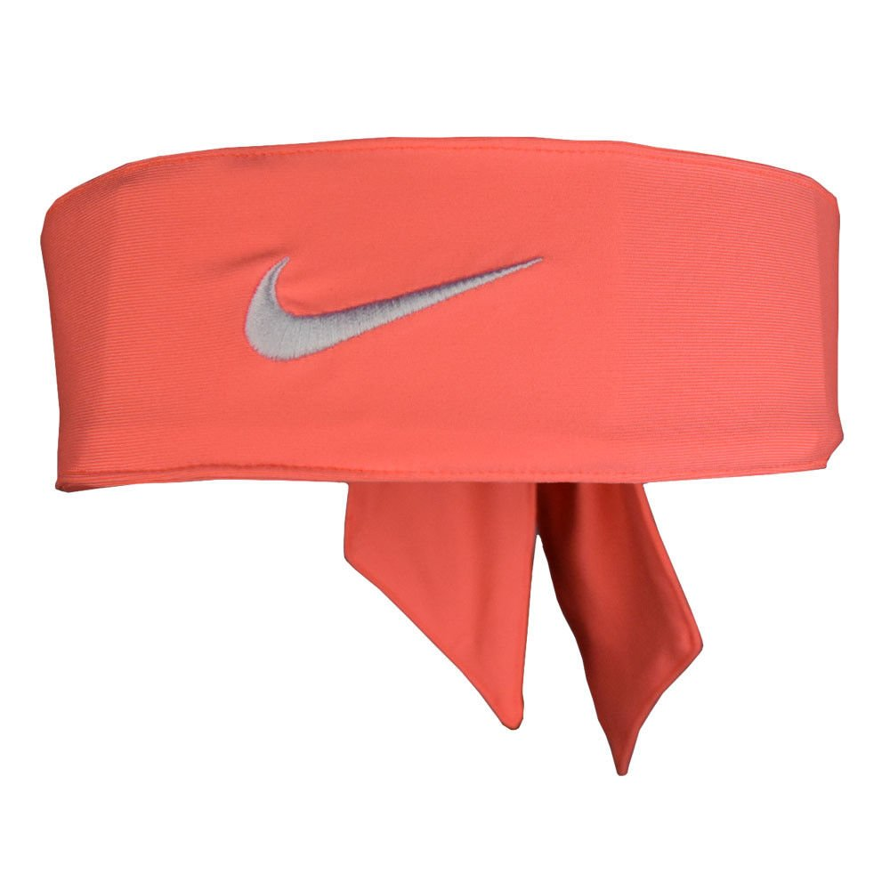 NIKE Dri Fit Head Tie (Peach/White) by Nike (Image #1)