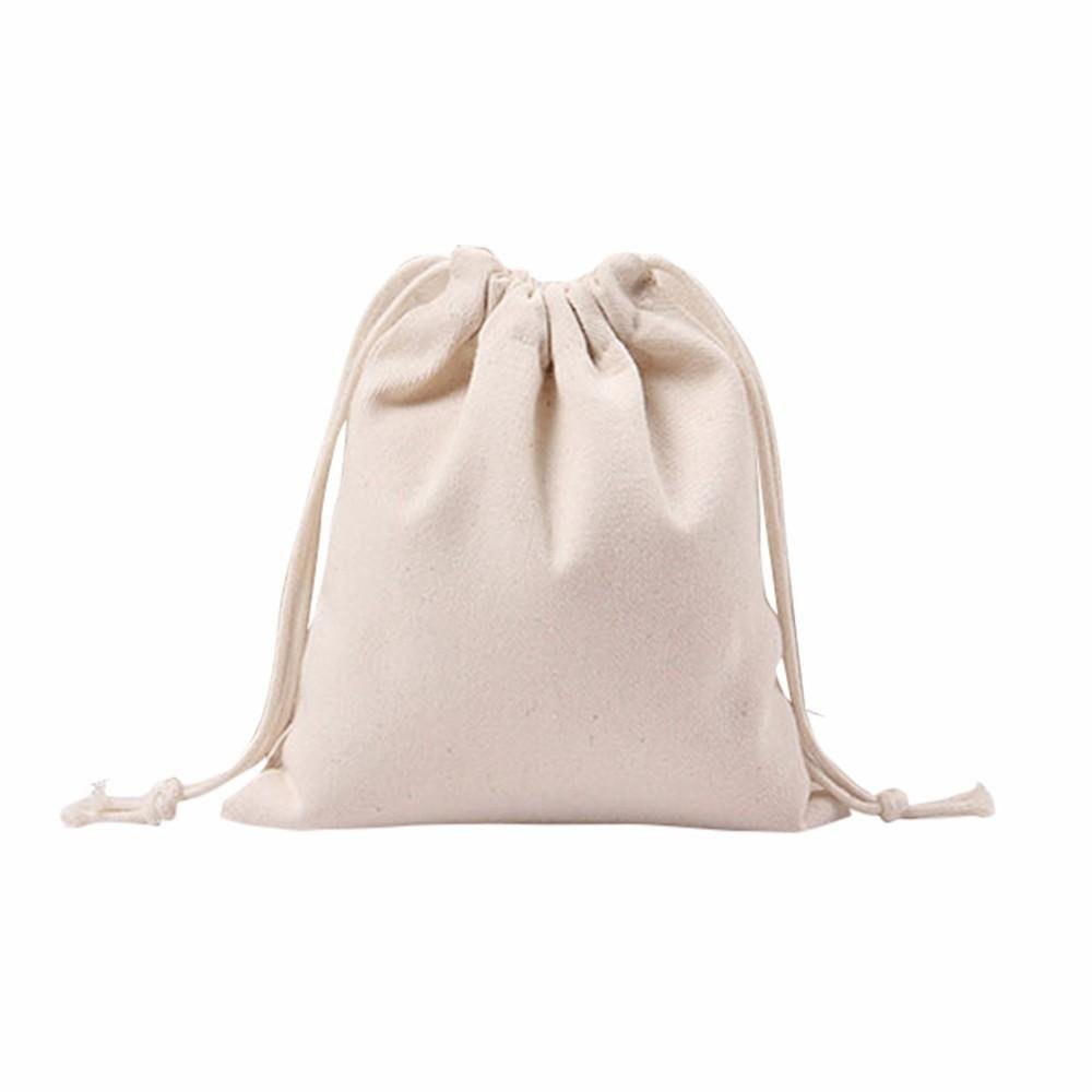 Doinshop Girls Ladies Womens Drawstring Beam Port Casual Shopping Bag Satchel Travel Bag