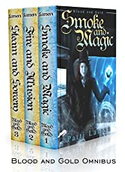 Blood and Gold Omnibus (Smoke and Magic, Fire and Illusion, Steam and Sorcery Book 1)