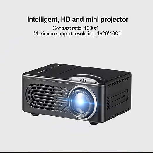 WANGOFUN Mini proyector doméstico, proyector 1080P de Alta ...