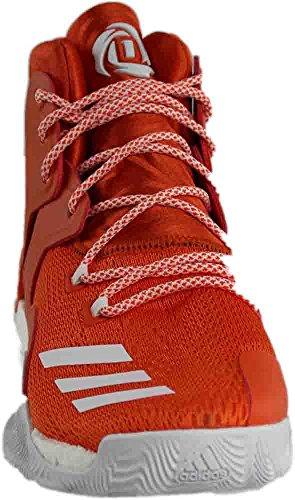 Adidas Sm D Steeg Met 7 Nba Oranje, Witte