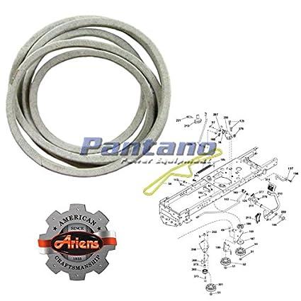51dspz1Vr7L._SX425_ amazon com ariens oem lawn mower tractor drive belt 21546422