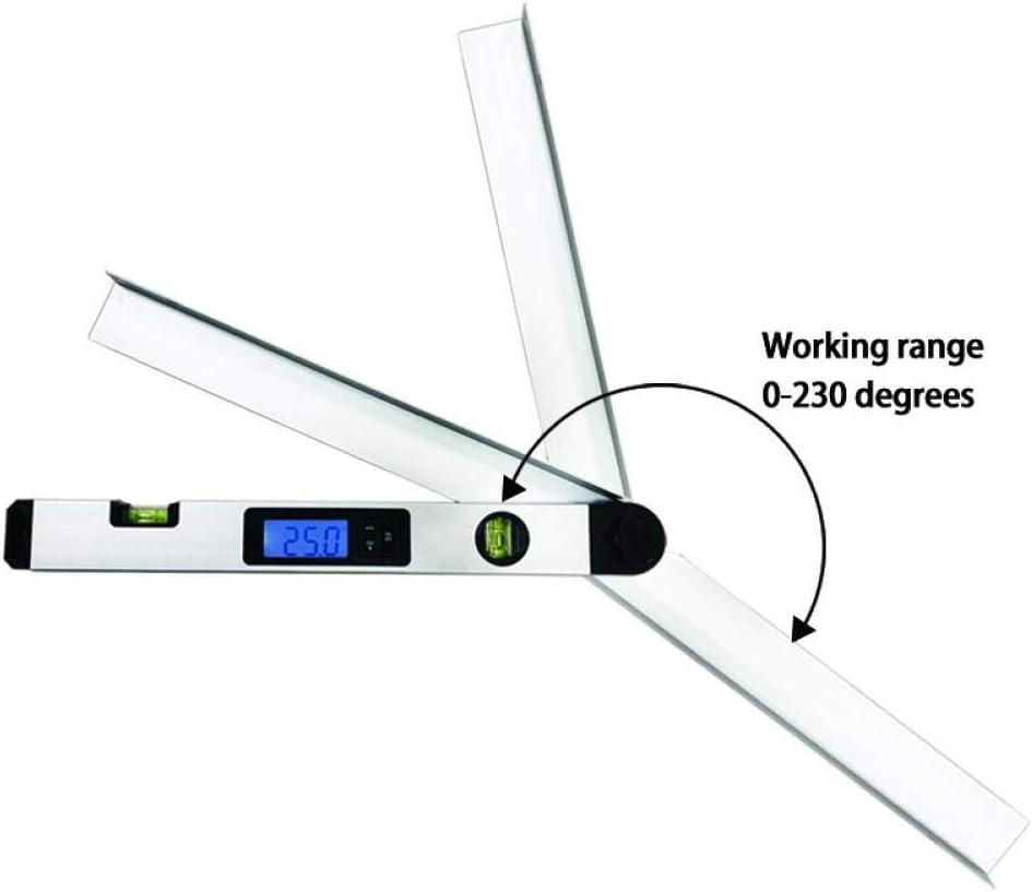 Electronic Digital Miltre Angle Finder Gauge 0-230° Protractor Measure Tool