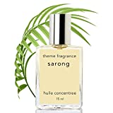 Sarong Perfume oil. Top selling coconut vanilla floral. Beach tropical island fragrance loved by men and women! Island floral notes plumeria, frangipani, pikake.