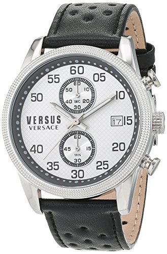 Versus-by-Versace-Mens-SHOREDITCH-Quartz-Stainless-Steel-and-Leather-Casual-Watch-ColorBlack-Model-S66060016