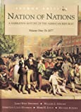 Nation of Nations : A Narrative History of the American Republic, Davidson, James West, 0070156352