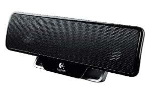 Logitech Z205 Portable Computer Speaker - Black