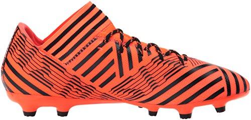 adidas Mens Nemeziz 17.3 FG Soccer Shoe Solar Orange/Black/Black IYL6FV