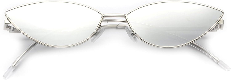FEISEDY Diseñador de moda Gafas de sol Retro Pétalos pequeños Forma Arco Templo Diseño B2298